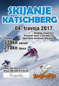 skijanje plakat Katschberg