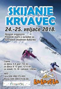 skijanje plakat 022018 krvavec
